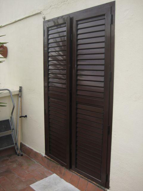 Mallorquinas aluminio para puertas ventanas balconeras - Carpinteria de aluminio en murcia ...