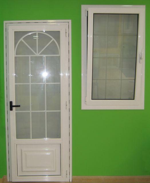 Puertas aluminio barcelona precios carpinter a de - Modelo de puertas de aluminio ...