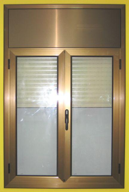 ventanas aluminio color bronce materiales de
