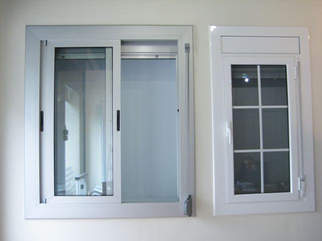 Ventanas aluminio abatibles batientes guillotina hervents - Ventanas de aluminio en barcelona ...